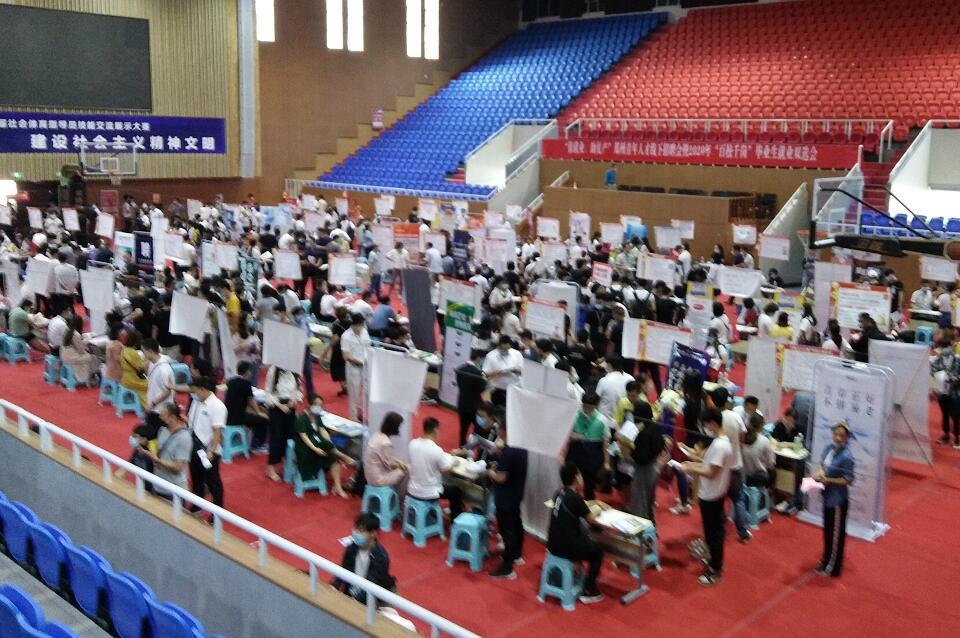 这场招聘会提供9000多岗位!在郑州找工作的大学生不妨来看看